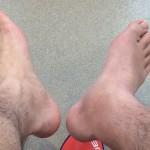 ぼくの右足
