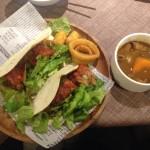 吉祥寺でサラダ食べ放題のランチです!
